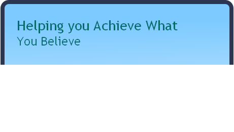 Helping you Achieve What